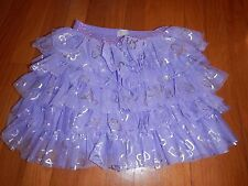 EUC Children's Place Girls CUTE Purple Heart Skirt - Size M 7/8