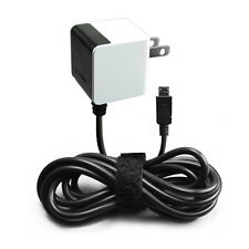 Cellet Home Wall Charger With Attached Micro USB Cable for Phones Black White