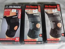 McDavid 428R Pro Stabilizer Knee Support Brace Geared Polycentric Hinges Black