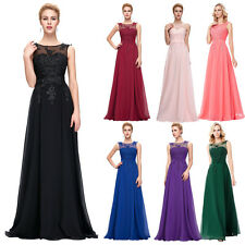 New Womens Formal Long Evening Ball Prom Gown Vintage Cocktail Party Dress Hot