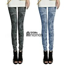 SEXY Womens Denim Jeans Skinny Leggings Jeggings Stretch Pants Trousers AN18
