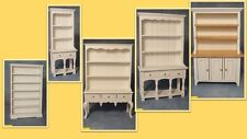 1:12 scale dolls house miniature selection of  white 5 dressers 4 choose.