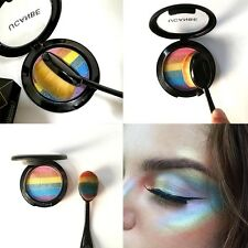 New 1PC  Rainbow Highlight Blush Eyeshadow Palette Multiple Color Palettes