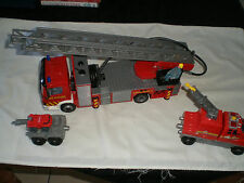 MATTEL AND MATCHBOX FIRE ENGINE AND BACK UP TENDER.