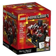 NIB! LEGO Minecraft Micro World – The Nether (21106)  RETIRED