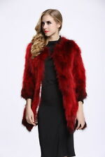 Winter Genuine Raccoon Fur Coat Fashion Lining Fur Outwear Lady Jacket C0105