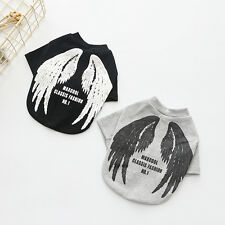 Small Dogs Pet Clothes Angel Wing T-shirt Puppy Cat Shirt Coat Tops Costumes