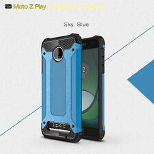 Shockproof Hybrid Rugged Armor Case Phone Cover For Motorola Moto Z Force & Play
