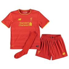 New Balance Liverpool FC Home Jersey Mini Kit 2016 2017 Childs Football Soccer