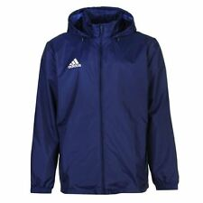 adidas Core Rain Jacket Mens Navy Jackets Coats Outerwear Sportswear