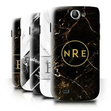 Personalized Custom Marble Phone Case for Samsung Galaxy W/I8150/Initial/Cover