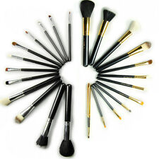 12 Pcs Professional Brush Cosmetic Make Up Set Case Bag Kit Animal Wool Denefit