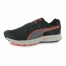 Puma Descendant Trail Running Shoes Womens Black/Peach Fitness Trainers Sneakers
