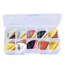 Box of 24/30/40/50/60/100pcs Mixed Color Guitar Bass Alice Picks Plectrum Gift