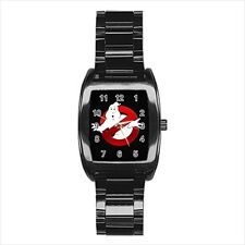 Ghostbusters Barrel Style Watch (Leather & Stainless Steel Straps)