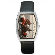 Mclaren 1 Sports Car Barrel Style Watch (Leather & Stainless Steel Straps)
