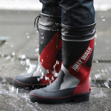 Men's Waterproof Hunting Fishing Rain Rubber Boots Knee High Boots Wading Boots