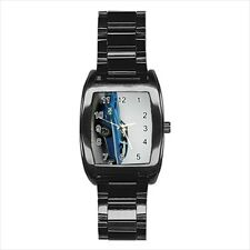 Pontiac GTO Lemans Barrel Style Watch (Leather & Stainless Steel Straps)