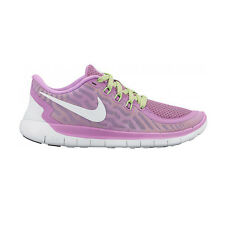 Nike Free 5.0 Shoes Sneaker Sports Running Ladies Girls Purple NEW Run
