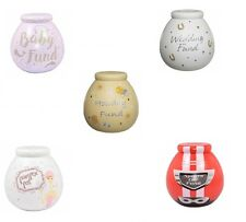 Pot Of Dreams Ceramic Gift Money Box/ Pot - GIANT POTS - Break To Open
