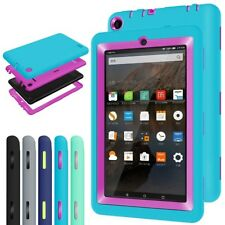 Kid Rugged Shockproof Protective Cover Case for Amazon Kindle Fire 7 Inch Tablet