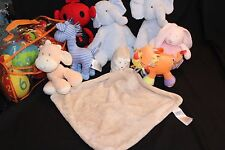 MOTHERCARE  BLANKIES SOFT PLUSH TOYS COMFORTERS  MULTI CHOICE LIST YOU CHOOSE