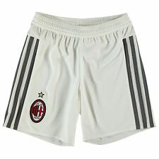 Adidas AC Milan Home Shorts 2015 2016 Juniors Black Football Soccer