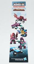 Kre-o 2014 Store Display Micro Changers Transformers Kreons KREO