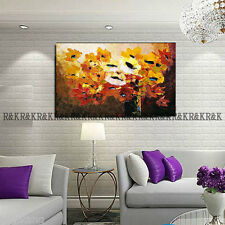 Abstract Hand-Paint Art Wall Decor Oil Painting On Canvas ,Full Bloom (No Frame)