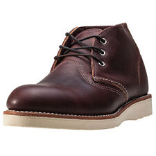 Red Wing 3141 Classic Mens Chukka Boots Dark Brown New Shoes