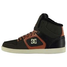DC Shoes Union High Winter Skate Shoes Mens Gry/Blk Trainers Sneakers Footwear