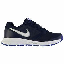 Nike Downshifter 6 Trainers Mens Navy/White Sports Shoes Sneakers Footwear