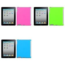 For Apple iPad 2 Rigid Plastic Hard Snap-On Case Phone Cover