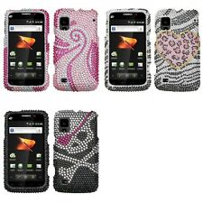 For ZTE Warp N860 Diamond Diamante Bling Rhinestone Case Cover