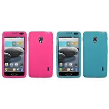 For LG Optimus F6 D500 Silicone Skin Rubber Soft Case Phone Cover