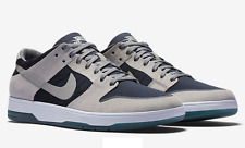 NIKE SB ZOOM DUNK LOW ELITE MEDIUM GREY MENS CASUAL SKATEBOARD SHOES SNEAKERS