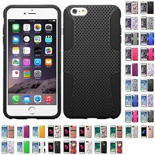 For Apple iPhone 7/6S/6 Plus Hybrid Rugged Impact Hard Soft Case Phone Cover