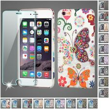 For Apple iPhone 6/6S PLUS 4.7 5.5 Snap-On Rear Hard Back Cover Phone Case