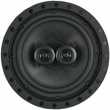 ArchiTech Kevlar 8 In. Single Point Stereo In-Wall/Ceiling Frameless Speaker,