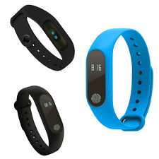 M2 Bluetooth Smart Band Bracelet Swimming Mode Calories Message For Android iOS