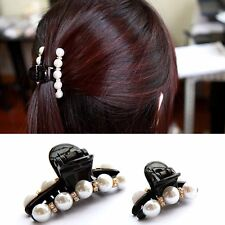 Charming Women Hair Clips Delicate Rhinestones Pearls Jewelry Girls Dating