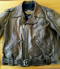 HARLEY DAVIDSON MENS LARGE (HAVE OTHER SIZES)BROWN SHOVELHEAD  JACKET