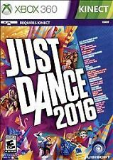 Just Dance 2016 (Xbox 360) Kinect - Brand New - Factory Sealed
