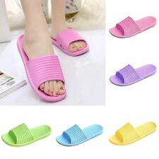 Women Summer Slippers Antiskid Flat Indoor Outdoor Beach Home Bath Slipper Shoes
