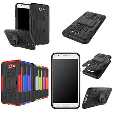 For Samsung Galaxy J3/J5 2017  Rugged Phone Armor Hybrid Impact Case Stand Cover