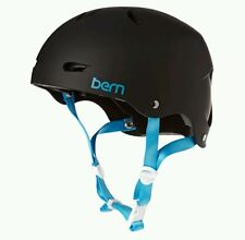 Womens Bern Brighton H20 Kite Wakeboarding Watersports Helmet Black XS S M L NEW