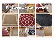 Kitchen hall ruinner mat rug gel backing washable flatweave sisal seagrass cheap