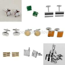Multi Styles Men Metal Business Shirt Cufflinks Wedding Party Cuff Links Jewelry
