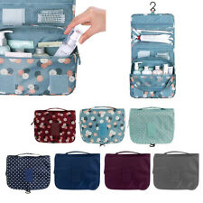 Travel Cosmetic Storage Bag Folding Hanging Toiletry Wash Case Organizer Pouch