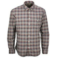 Camel active Men's Casual Shirt Regular Fit red blue grey checked 315230 35